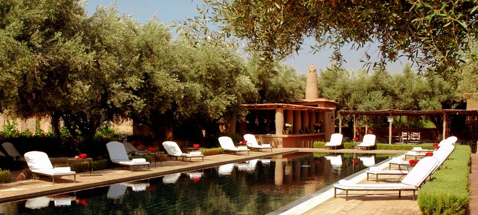Our pool selection in Marrakech