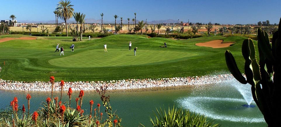Our selection of golfs in Marrakech