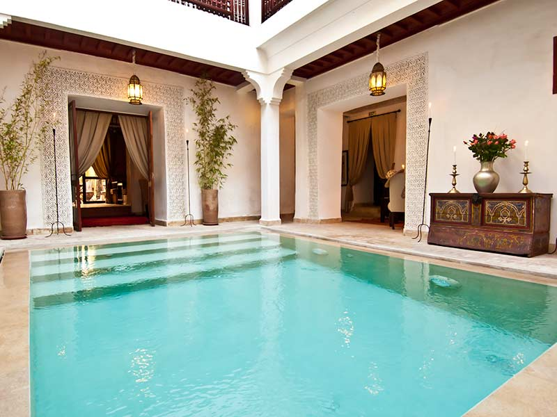 Marrakech riads find the best riad in marrakech with for Riad essaouira avec piscine