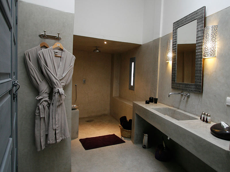 Beautiful Tadelakt Salle De Bain Moderne Gallery - House Design ...