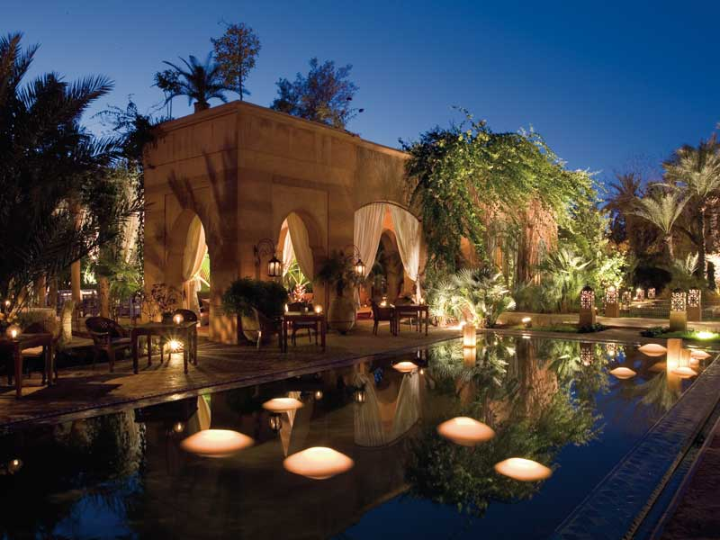 Hotels wedding honeymoon for Riad marrakech piscine chauffee