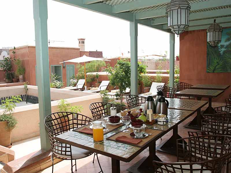 Terrace Breakfast