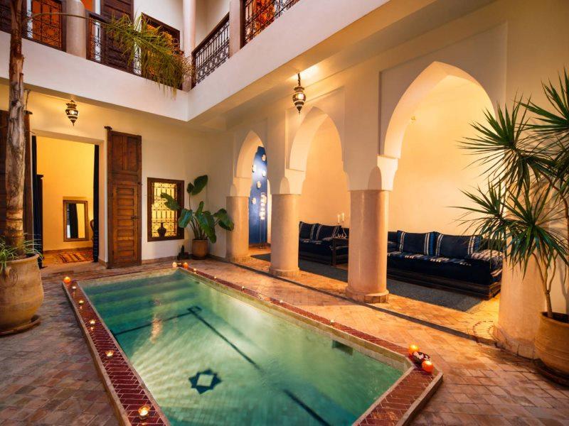 Riad marrakech medina book a riad in marrakech medina for Design hotel marrakech