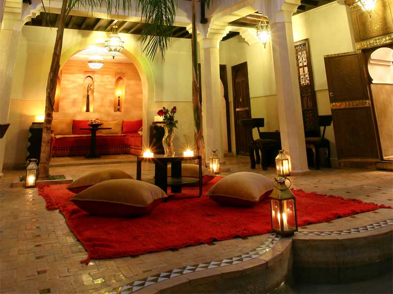 Entire Riad des Arts