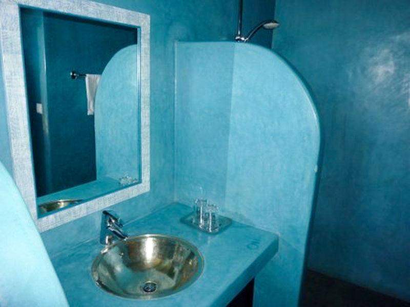 Riad le douar des arganiers book le douar des arganiers for Salle bain turquoise