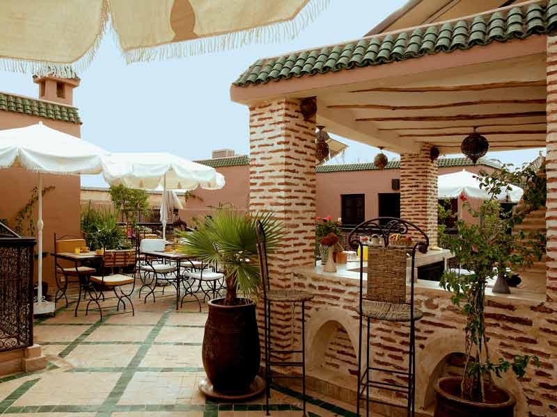 Riad les jardins de mouassine book les jardins de - Jardin marocain terrasse ...