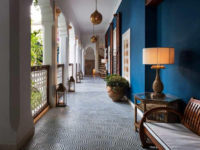 Riad les yeux bleus book riad les yeux bleus riad in for Hotel design marrakech