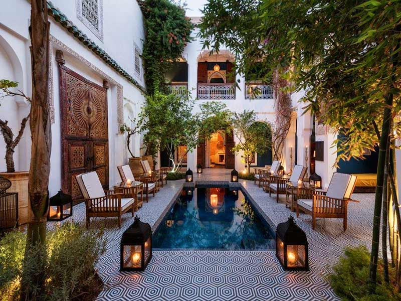 Riad Les Yeux Bleus - private rental of both riads