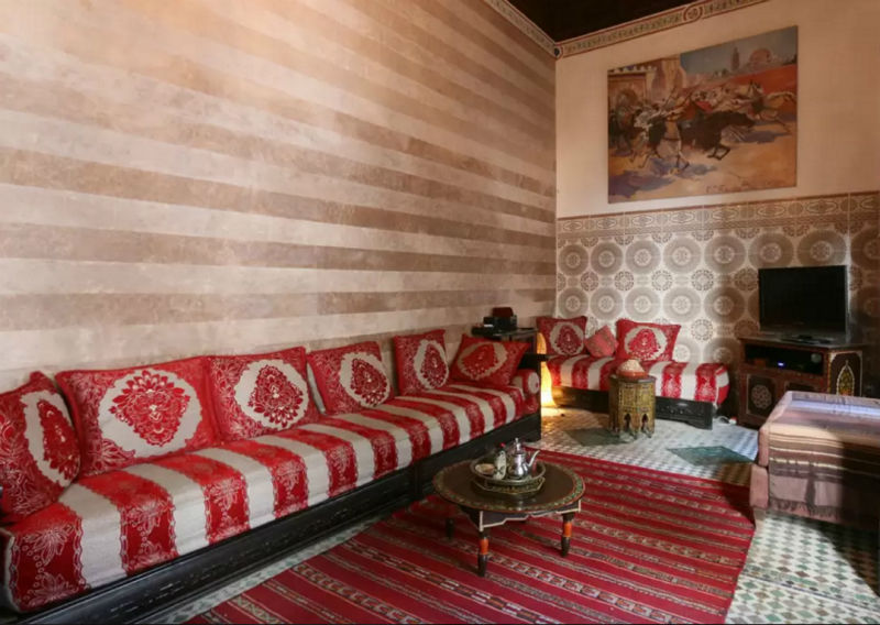 Morocco Living Room