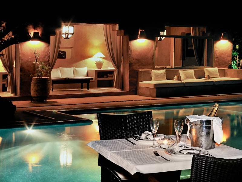 Riad villa 55 book villa 55 riad in marrakech hotels ryads for Club piscine pool heater