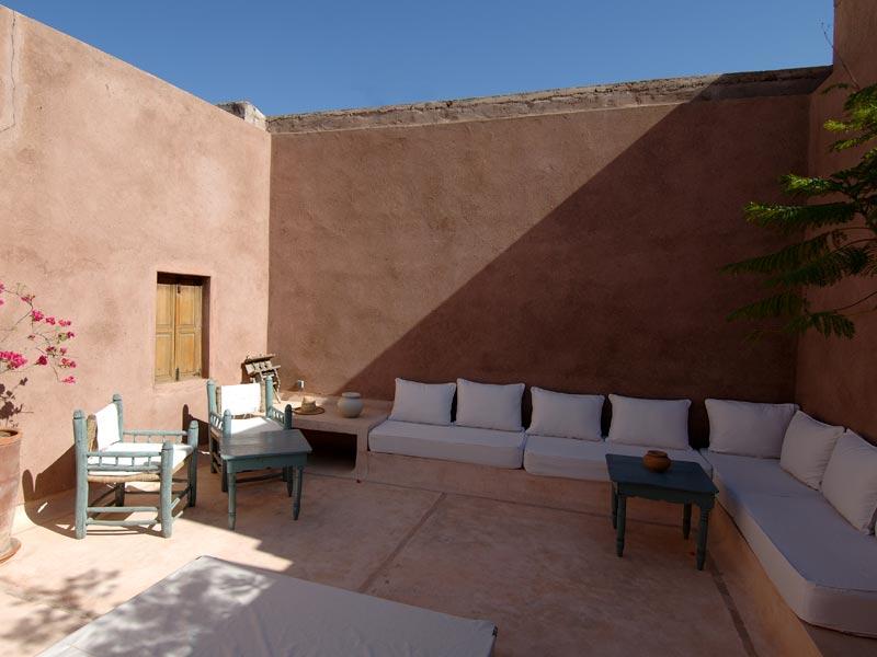 Riad wo book riad wo riad in marrakech hotels ryads - Jardin marocain terrasse ...