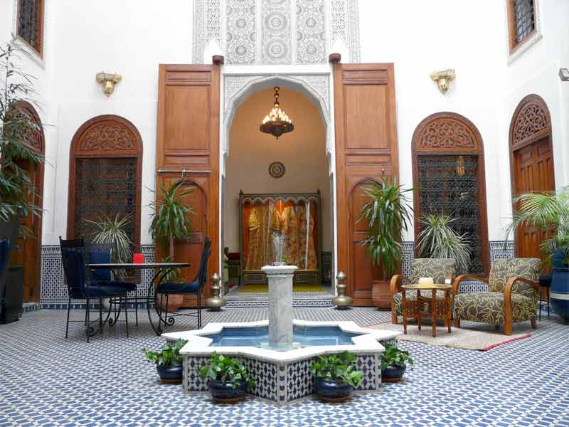 Fez riads find the best riad in fez with hotels ryads for Top 10 riads in marrakech